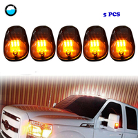 5pcs/set Smoked LED car Roof light Pickup truck lamp For Ford Truck SUV Pickup 4x4 Top Marker Running Right