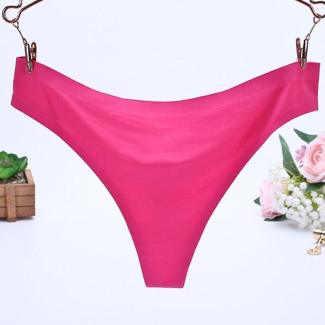 66c572dfae8 Women Sexy panties Spandex Shorts Panties Vs Underwears Solid Black Pink  Lingerie Thong Big Size Hipster Panty