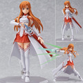 Japan Anime Figma Sword Art Online Yuuki Asuna Sao New PVC Action Figure Collection Model Toys Doll 15cm LC0183