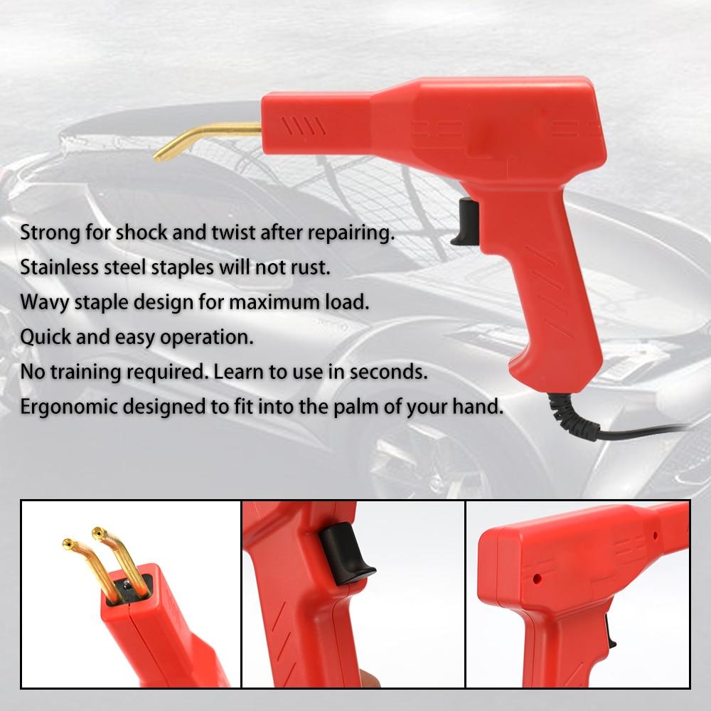 Image 3 - Handy Plastics Welder Garage Tools Hot Staplers Machine Staple PVC Repairing Machine Car Bumper Repairing Hot StaplerPlastic Welders   - AliExpress