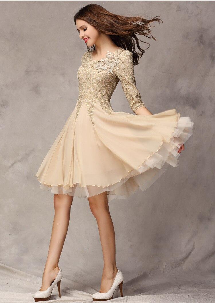 Aliexpress.com : Buy 2015 New Arrival Winter Dress Ladies Prom ...