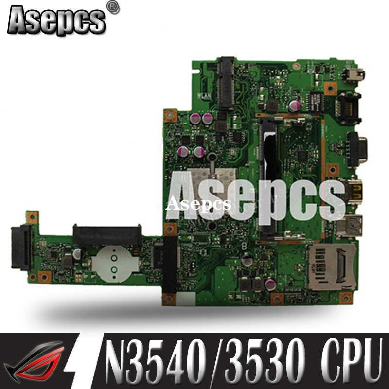 Asepcs עבור ASUS X453MA X403M F453M מחשב נייד האם X453MA N3540/3530 מעבד 4 ליבות Mainboard מבחן טוב