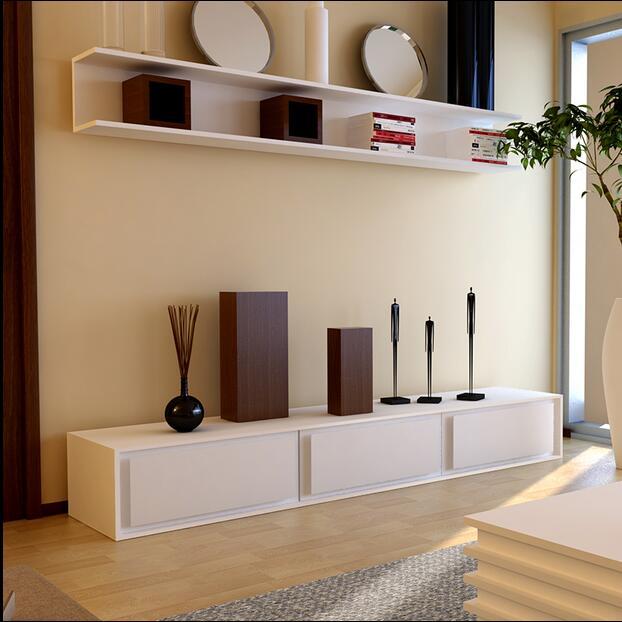 Tv Cabinet Minimaliste Moderne Meuble Tele Table Basse