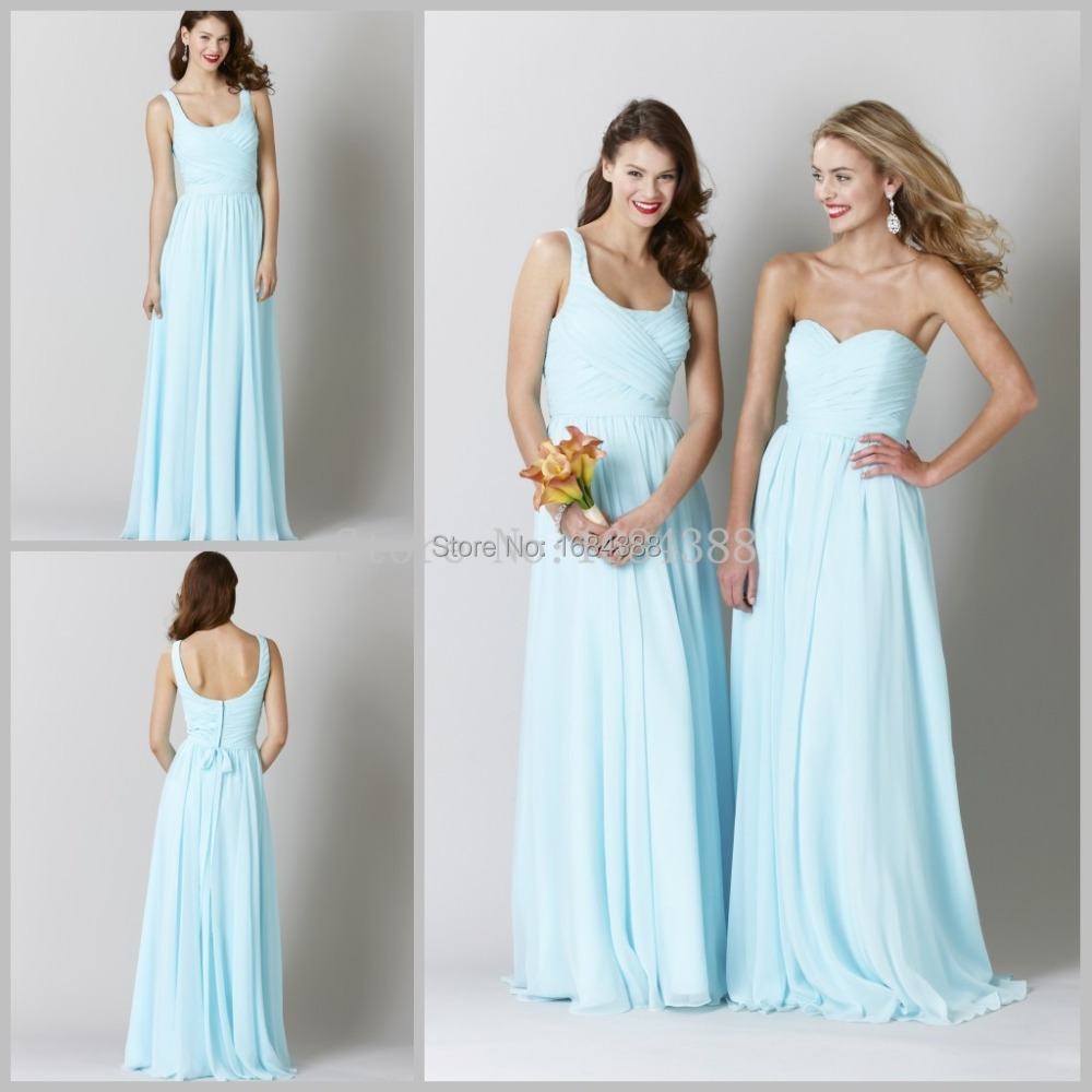 Aliexpress buy 2015 free shipping light blue beach aliexpress buy 2015 free shipping light blue beach bridesmaid dress sleeveless sweetheart chiffon bridesmaid gown vestidos de festa from reliable blue ombrellifo Choice Image