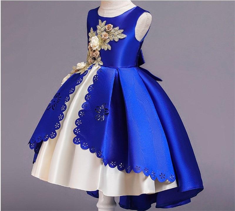 HTB1g.7bX5 1gK0jSZFqq6ApaXXac Girls Dress Christmas Kids Dresses For Girls Party Elegant Princess Dress For Girl Wedding Gown Children Clothing 3 6 8 10 Years