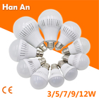 E27 Led Bulb Light Energy Saving Lamp E27 B22 Led Bulbs 2835SMD 3W 5W 7W 9W 12W 180V-220V Light Home LED Bulb Light Night