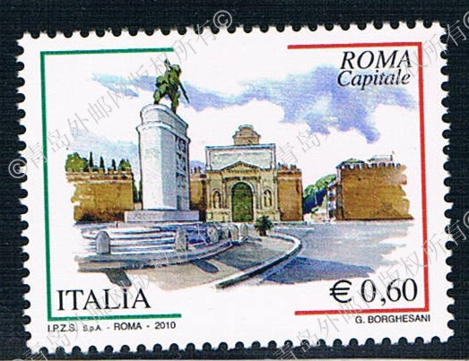 YT0178 Italy Rome 2010 1 0629 new series of stamps rcv 865 0178