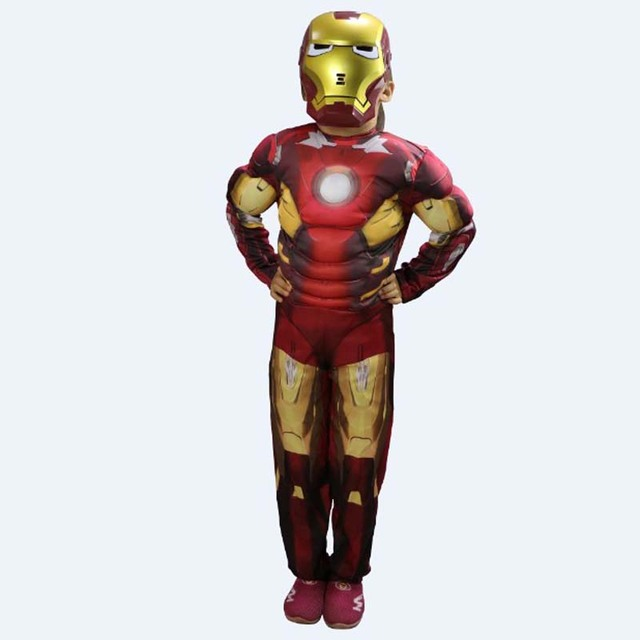 kids halloween iron man costumes the avengers cosplay tony stark role play childrens day christmas carnival