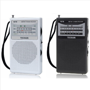 retail wholesale tecsun r 218 r218 fmamtv sound portable pocket ssb radio sw receiver built in speaker bathroom radio in radio from consumer electronics - Bathroom Radio