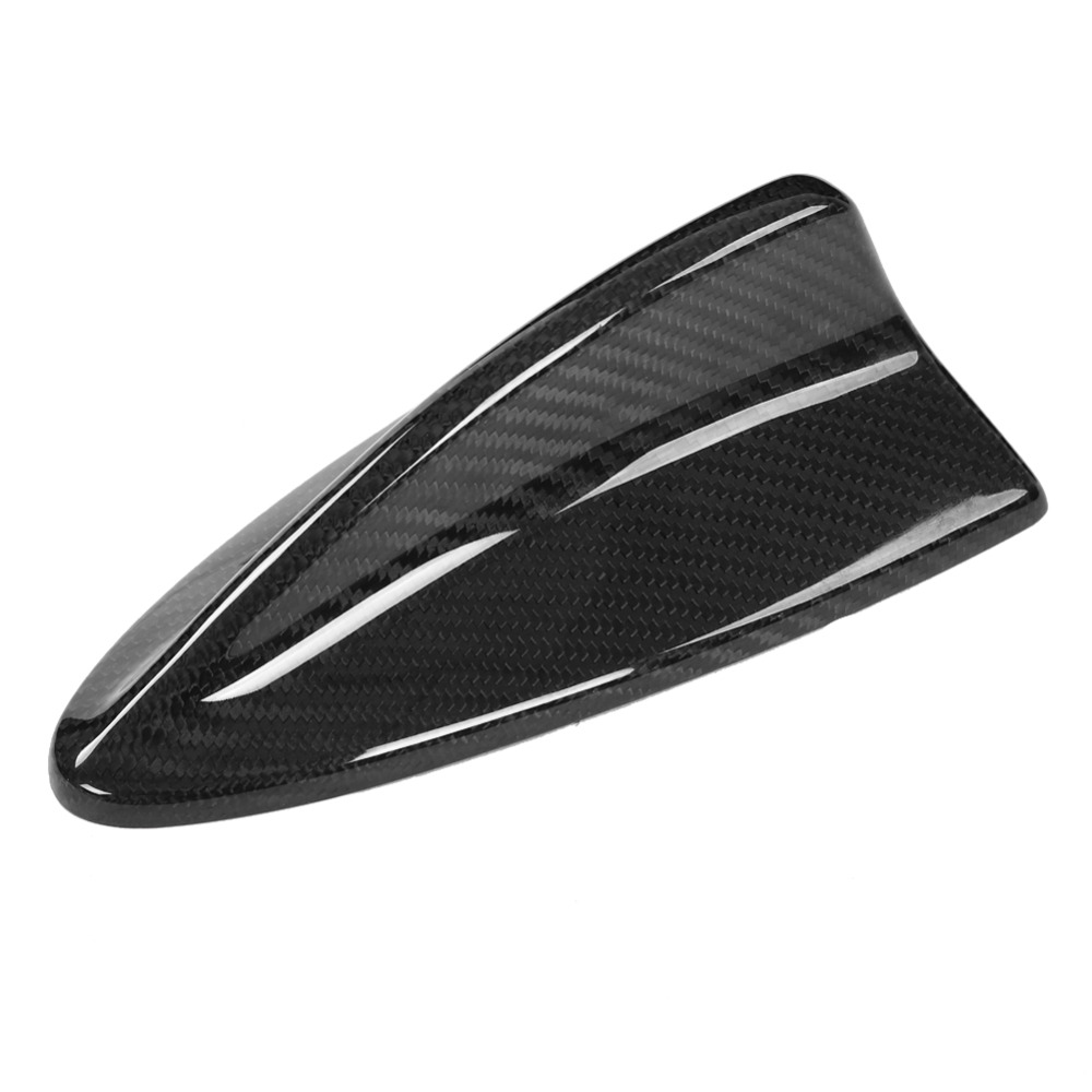Garniture de couverture d'aileron de requin d'antenne de Fiber de carbone de voiture pour BMW M E46 E90 E60 E6 faite avec le poids léger en plastique d'abs de haute qualité non se fanant