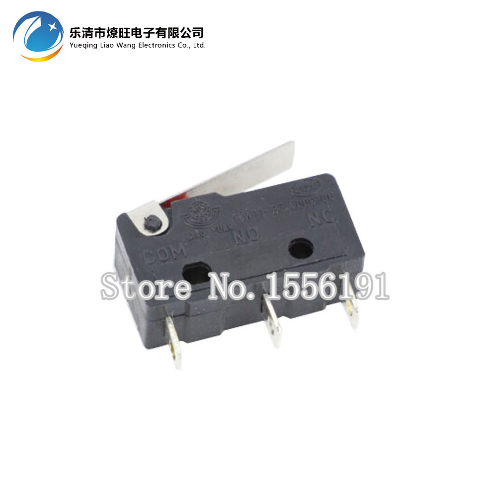 10 PCS/LOT Limit Switch 3 Pin N/O N/C High quality and long life All New 5A 250VAC KW11-3Z Micro Switch Factory direct sale
