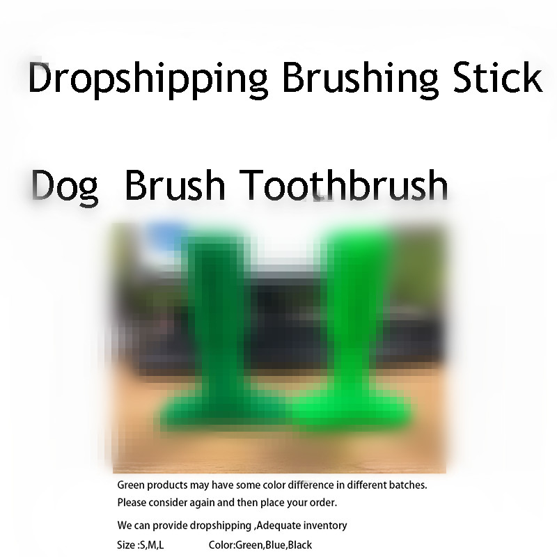 S, M, L, perro juguetes Dropshipping. exclusivo. cepillado palo perro cepillo eficaz cepillo de dientes para perros mascotas Cuidado Oral perro cepillado Stick