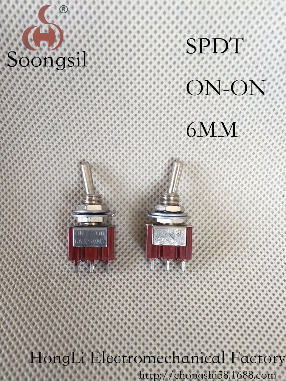 цены  Direct production  Soongsil RED   3 Pin ON-ON 2 Position SPDT CQC UL ROHS  Mini Rocker  Switch AC 6A/125V 3A/250V