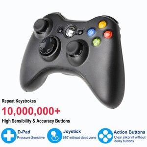 Image 4 - สำหรับXbox 360 2.4G Wireless Controllerคอมพิวเตอร์PCตัวรับสัญญาณไร้สายระยะไกลสำหรับMicrosoft Xbox360 จอยสติ๊กControle