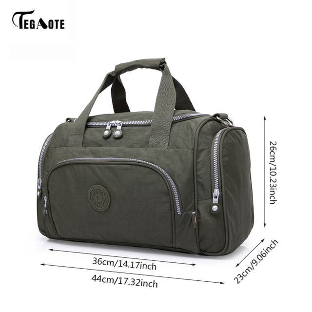 TEGAOTE Men's Luggage Travel Bag