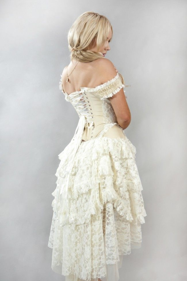 Victorian lace prom dresses