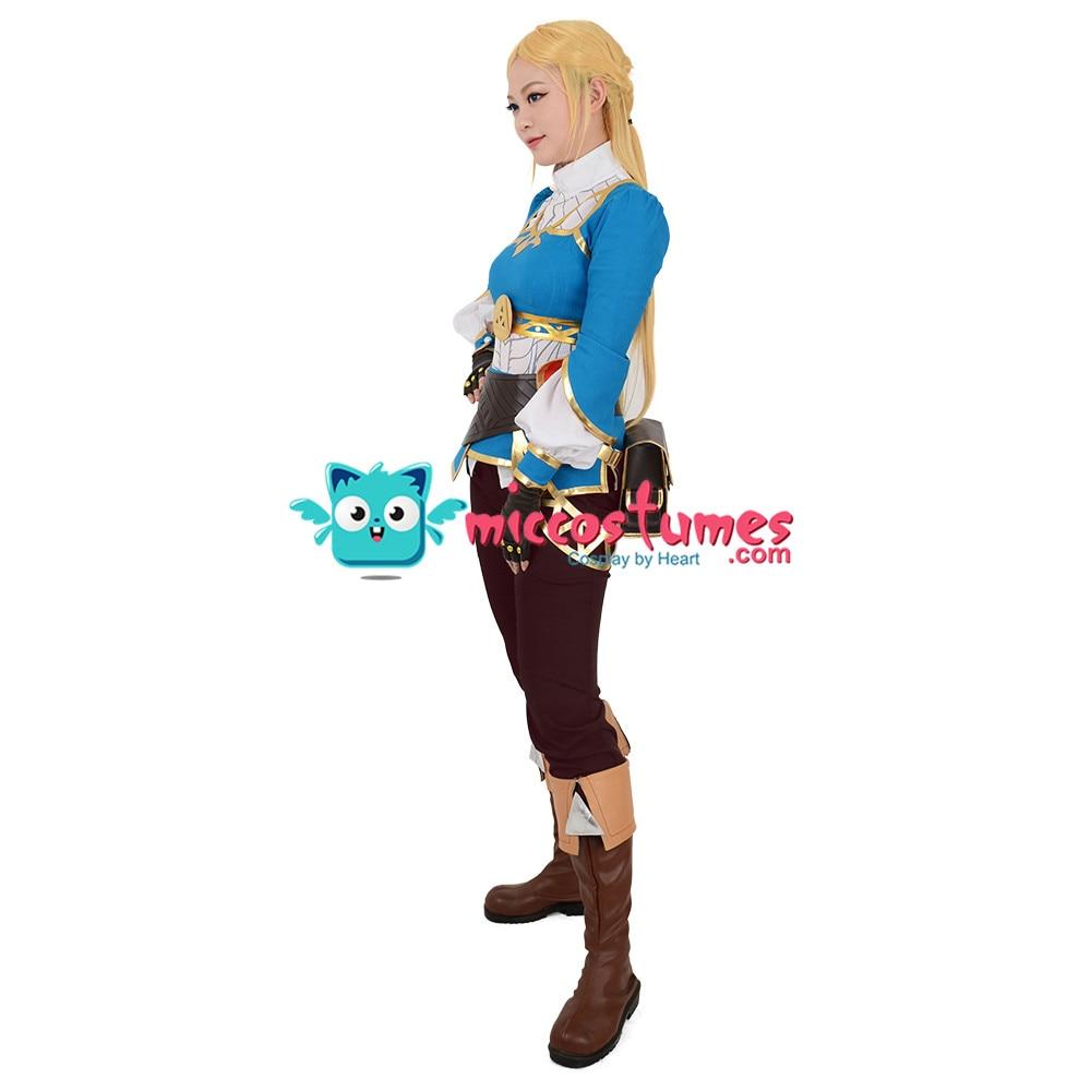 Zelda Botw Cosplay De Legend Of Zelda Adem Van De Wilde Prinses Zelda Cosplay Kostuum - 4