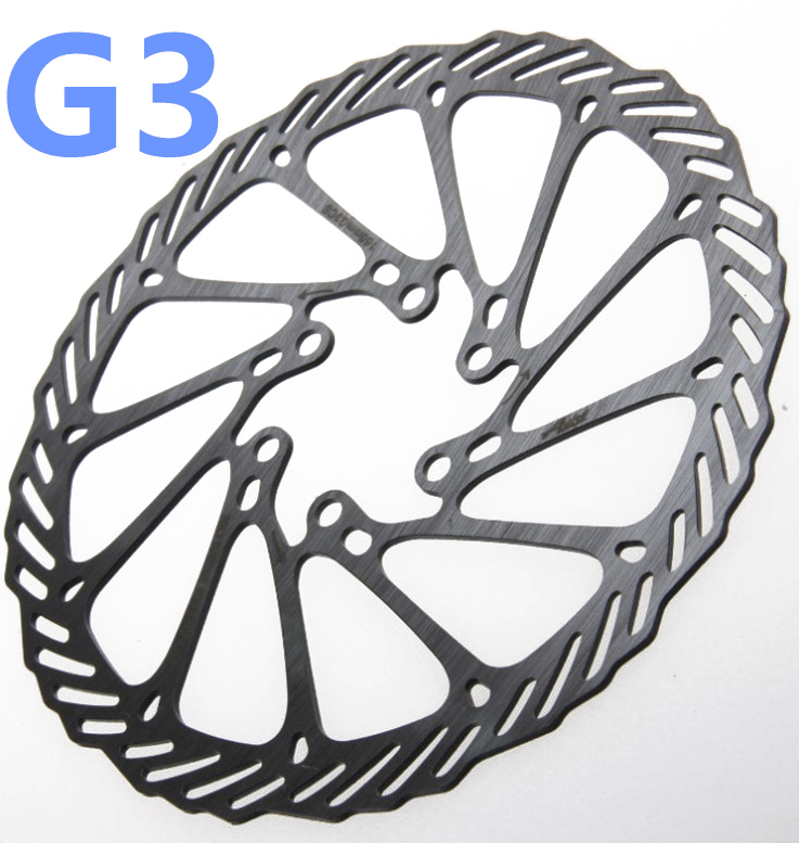 цена на 1pcs G3CS G3 140mm 160mm 180mm 203mm Stainless Steel Bicycle brake BB5 BB7 MTB Mountain Bike Disc Bicycle Brake Rotor + Screws