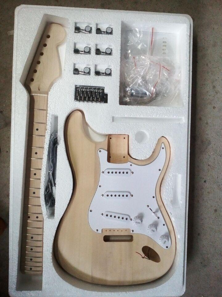 Usine vendre bricolage Kits de DY-Y3 de guitare électrique, y compris toutes les pièces emballage en mousse