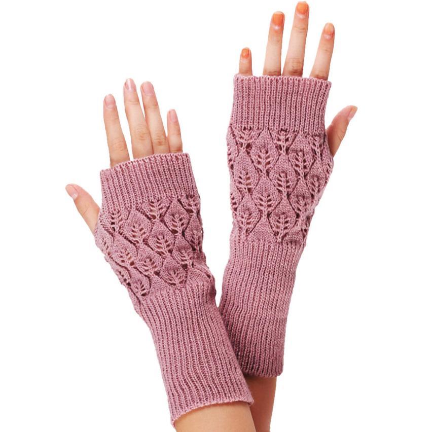 Sales Fine Sheep Wool Mitt Exposed Finger Women'ss