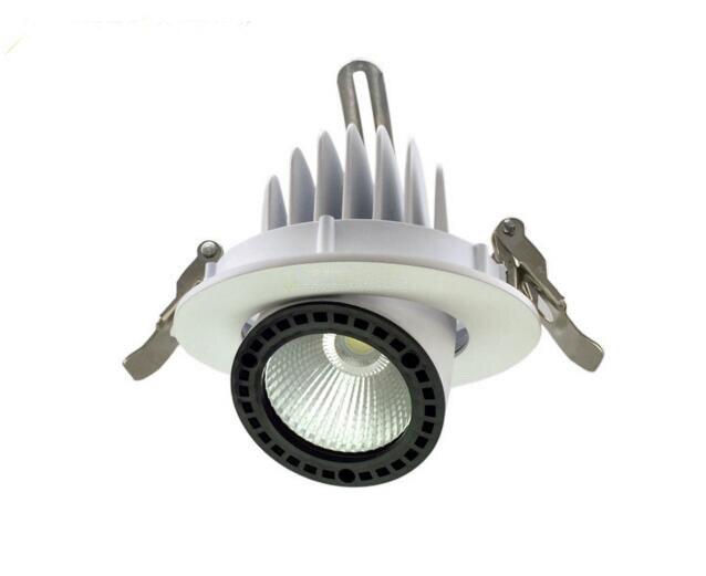 Livraison gratuite LED Downlight 50 W Spot encastré lampe de plafond lumière éclairage à la maison pour salon cuisine salle de bains CE ROHS - 2