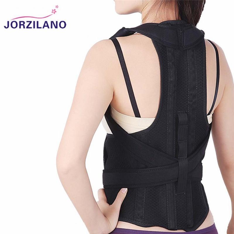 מחוך חזור יציבת מתקן Brace חזור מגנטי תמיכה בעמוד השדרה המותני חגורת תיקון יציבה לגברים נשים כתף JORZILANO