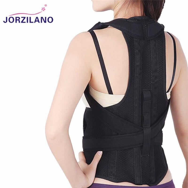 Magnetic Corset Back Posture Corrector Brace Back Shoulder Lumbar Spine Support Posture Correction Belt for Men Women JORZILANO free size o x form legs posture corrector belt braces
