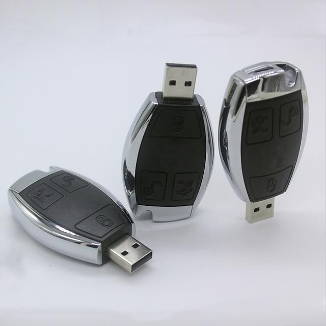 Car Logo Pen Drive 128gb 128 Gb Usb Flash Drive 64gb Mercedes Benz