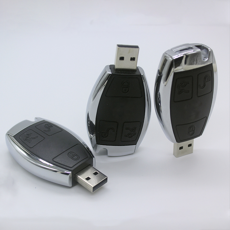 Car Logo Pen Drive 128gb 128 gb USB Flash drive 64gb Mercedes Benz Car Key USB Stick 32GB 16GB 8GB Pendrive Memory Stick USB 2.0