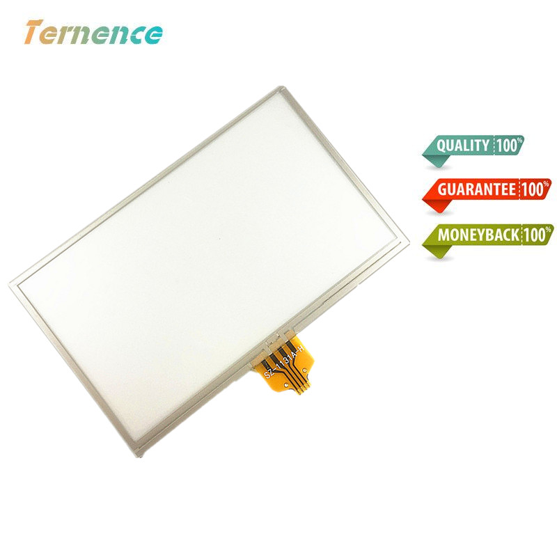 Skylarpu New 4.3-inch Touch screen panels for TomTom VIA 4EV42 4EQ41 4EN42 Z1230 GPS Touch screen digitizer panel replacement