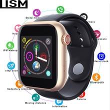 все цены на 50%off Smart Watch Series 4 SmartWatch case for apple iPhone Android Smart phone heart rate monitor pedometor Reloj PK Apple онлайн