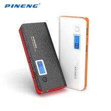 PINENG PN-968 10000 мАч Мобильный Банк Питания Dual USB Зарядки Внешняя Батарея Зарядное Устройство Портативный Аккумулятор с Фонарик Power Bank