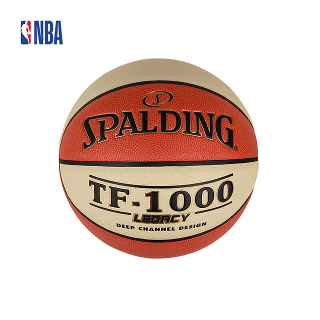 Original NBA Spalding Legacy PU Basketball TF-1000 Indoor 7  Ball Official  Size And Weight SBD0144A 0673519cb42b