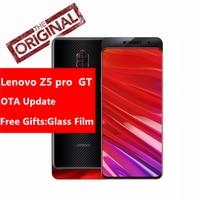 Original Lenovo Z5 Pro GT 855 mobile phone 6.39 Inch 24.0MP AI Camera Fingerprint Under Display Snapdragon855 Octa-core 3350 mAh Lenovo Phones