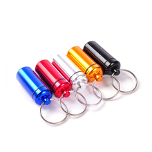 Special tools pill bottle for home best key chain gift The elderly 10 colors your choose easy to take in the pocket