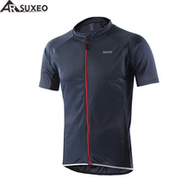 ARSUXEO 2017 Summer Outdoor Sports Cycling Jersey Reflective Bike Bicycle Short Sleeves MTB Clothing Shirts Wear Bike Jersey 632