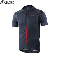 ARSUXEO 2016 Outdoor Sports Cycling Jersey Reflective Summer Bike Bicycle Short Sleeves MTB Clothing Shirts Wear