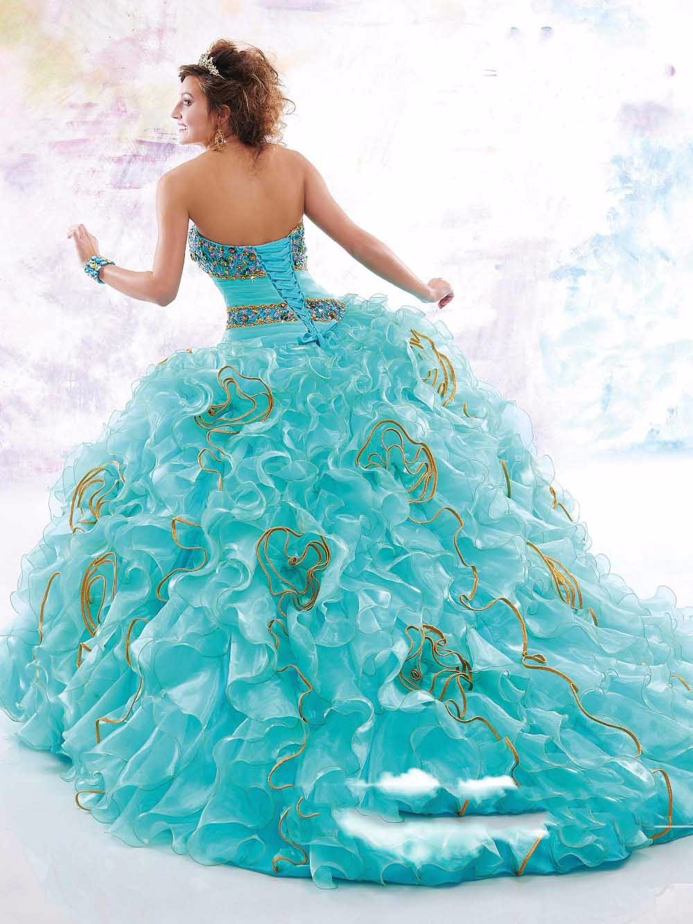 Free-Bolero-Blue-Ball-Gown-Quinceanera-Dresses-New-Sparkling-Beads-Crystal-Organza-Prom-Dresses-15-Years (2)