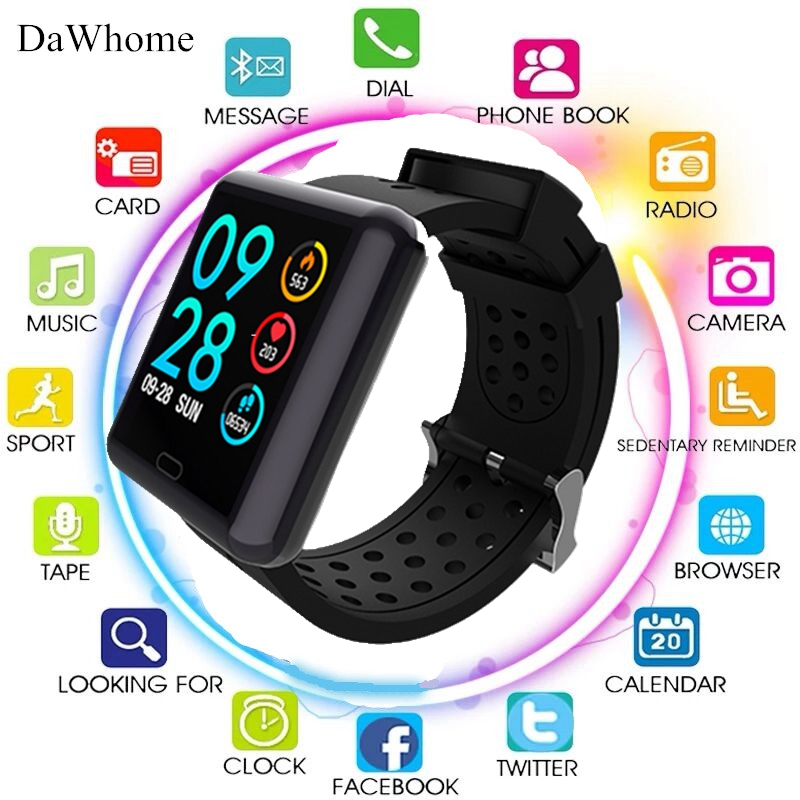 Smart Watch Men Women 2019 Blood Pressure Blood Oxygen Heart Rate Monitor Sports Tracker Smartwatch IP67 Connect IOS Android
