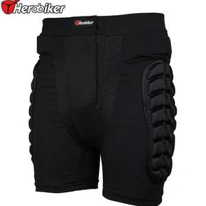 Men's and Women's Unisex Ski Bicycle Racing Downhill Pants Shorts Hip Waist Sport Snowboard Protection Children EVA Ventilation