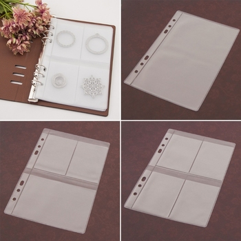 5 Sheets DIY Scrapbooking Cutting Dies Stencil Storage Book Collection Album Cover  Transparent Plastic 4 styles inner page 3802618 page 4