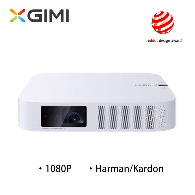 XGIMI Z6 Polar Mini portátil inteligente casa teatro 3D Android 6,0 wifi 1080 p Full HD de cine en casa Bluetooth proyectores