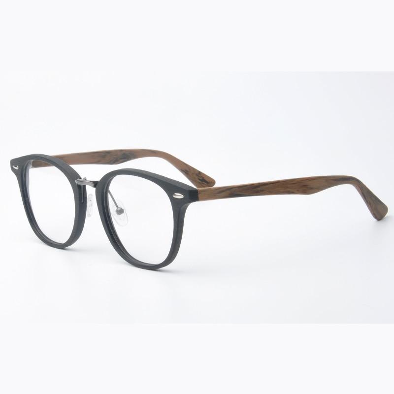 Viewnice 2018 New arrival Rivet Wood glasses Frame Female Retro ...