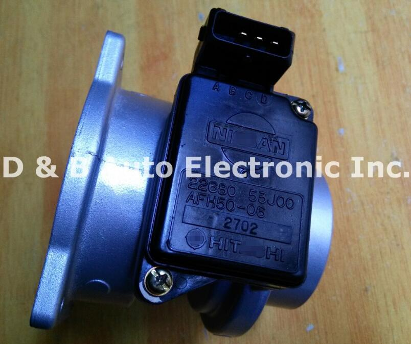 1pc Original Air Flow Meters 22680-53J00 AFH50-06 MAF Sensors for Nissan Cefiro U13 SR20 фонарь спутник afh 100 1watt