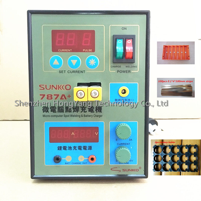 SUKKO 787A Spot Welder Battery Welder Applicable Notebook and Phone Battery Precision Welding Pedal 787a power 787a mcu spot welder battery welder applicable notebook and phone battery precision welding pedal with free nickel plates