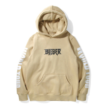 2016 Autumn Justin Bieber Hoodies Fleece Purpose Tour Bieber FOG Hip Hop Jumper Pullover Fashion Kanye Sweatershirt