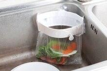 Sink Trash Rack Strong Sucker Garbage Bag Holder