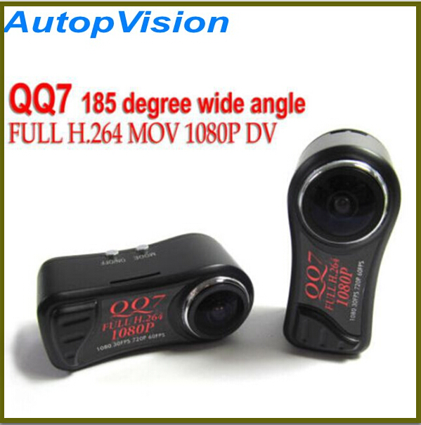 Smallest Mini Camera DV FULL HD 1080P DVR H.264 Action Camcorder Wide Angle Digital Video Cameras QQ7 Cam Free shipping x360 action camera wifi full hd 1080p 360 camera h 264 2 0 screen waterproof kamera wide angle mini dv dvr video camcorder