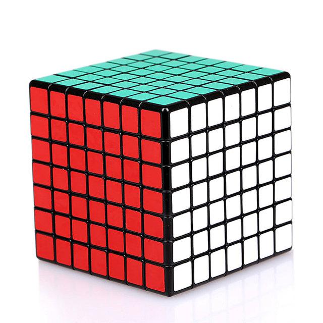 Envío Gratis shengshou 7x7 shengshou 7x7x7 velocidad Cubo mágico Puzzle cube juguetes Educativos de Inteligencia juguetes