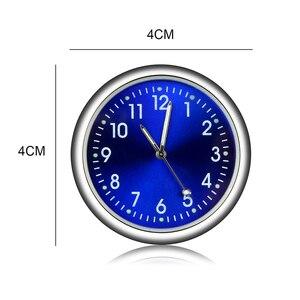 Image 4 - Relógio de horário automotivo luminoso, enfeites de relógio de quartzo para audi a4 b5 megane 3 tucson renault clio 2 alfa romeo 159 audi q7 megane 2